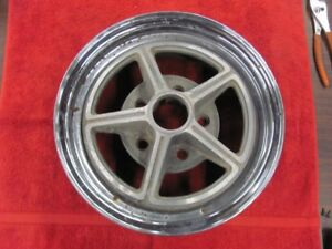 Kelsey Hayes 14x6 Magstar Wheel Rim Buick Chevy 5x4 75 July 1966 Date 5x4 75