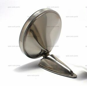 5 Durant Stainless Steel Mirror Reproduction Porsche 356 911 912