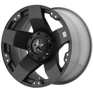 17x8 Black Rockstar Xd775b 5x4 5 5x5 35 Nitto Dune Grappler 305 70r17 Rims Tires