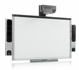 Sbx885 87 Interactive Smart Board And Ux60 Projector Complete Warranty