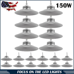 5 X 100w Led High Bay Bright Light Lamp Warehouse Shed Factory Industry Fixture