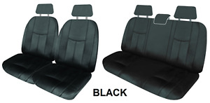 Single Row Custom Leather Look Seat Covers For Ford Falcon Centrefold 91 98 E
