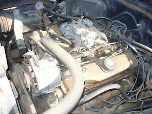 1966 Pontiac Grand Prix 389 Ho Engine Yf Code 325 Hp Gto 092 Heads 421 389 Block