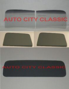 1941 Chevrolet Pickup Truck Glass 2 Pc Windshield Doors Back Grey 41 Chevy