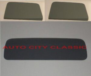 Chevy Cab Pickup Glass 1941 1942 1946 Truck Door Rear Back Grey