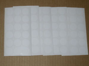 5058 Blank Garage Yard Sale Rummage Stickers Price Labels White C my Other Items
