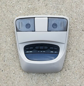 2004 2009 Dodge Durango Overhead Console With Map Lights Homelink no Sunroof