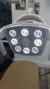 Post Mount Led Dental Exam Light