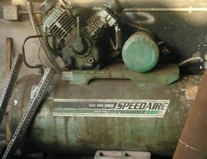 Industrial Speedaire Air Compressor