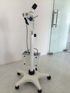 Colposcope Portable 3 Step Magnification Light Source Beam Spliter