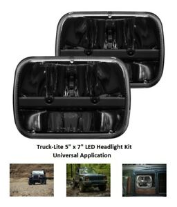Truck lite 5 X 7 Led Headlight For Jeep Yj Wrangler And Jeep Cherokee Xj