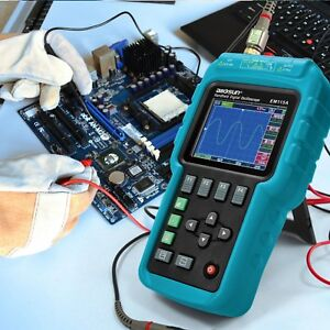 Digital Scopemeter Multimeter Oscilloscope Dso Ohm 50mhz Bandwidth Color Screen