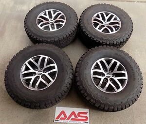2017 Original Ford F150 Raptor Takeoff Wheels And Tires