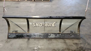 Sno Way Lexan Snow Plow Blade 80 X 24 Plexyglass Clear Series26