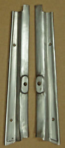 1928 1929 Model A Ford Coupe Sedan Windshield Garnish Mouldings Pair Rat Rod