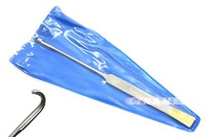 Premium Spay Snook Hook 8 Veterinary Surgical Instruments german Stainless