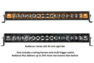 Rigid Industries Radiance Plus With Amber Back light Led 30 Light Bar