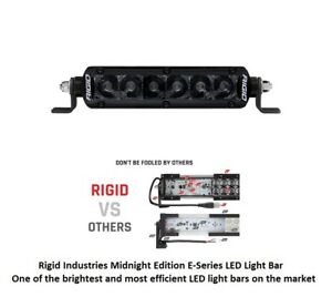 Rigid Industries 6 Sr Series Pro Midnight Edition Spot Optics Led Light Bar