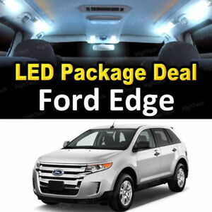 For 2007 2012 2013 2014 Ford Edge Led Lights Interior Package Kit White 10pcs