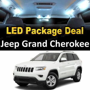 For 2014 2018 Jeep Grand Cherokee Led Lights Interior Package Kit White 7pcs