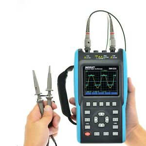 Handheld Digital Oscilloscope Multimeter Tft Lcd Scope Meter 25mhz 2 Channel Usb