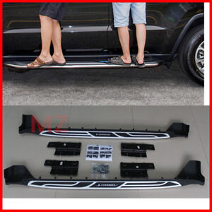 For 2011 2019 Jeep Grand Cherokee Oe Style Running Boards Side Steps Nerf Bars