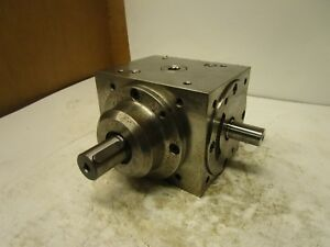 Tandler A1 Iii Double Output Right Angle Gearbox Speed Reducer 1 2 Ratio 207179