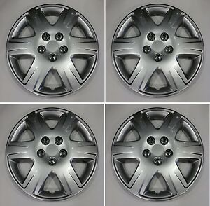 Set Of 4 15 Aftermarket Hubcap Cover Fits A 2005 2008 Toyota Corolla 42621ab110