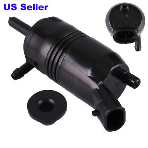 Front Windshield Washer Pump For Pontiac Oldsmobile Saturn Outlook Chevy Impala