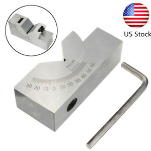 Precision 0 60 Adjustable Angle Block Gauge Toolmaker For Milling Drill Press
