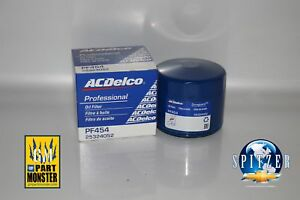 Acdelco Pro Pf454 Gm Oem Engine Oil Filter 25324052