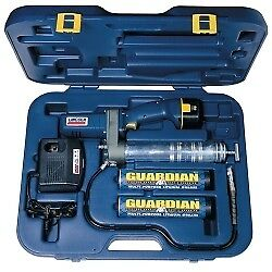 Lincoln Industrial 12 volt Grease Gun With Case 1242