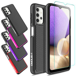 For Samsung Galaxy A32 5G Shockproof Hybrid Hard Case Cover Screen Protector $9.95