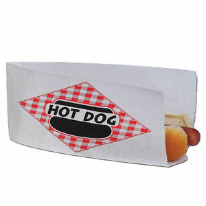 Gold Medal Hot Dog Bags 1 000 Ct