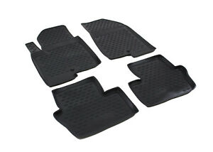 All Weather Black Floor Liners Mats 3d Design For Jeep Liberty 2007 2013