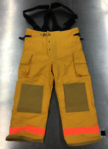 Fire Dex Firefighter Turnout Gear Pants Nomex 35m Firedex 35m6p732 Size Xl New