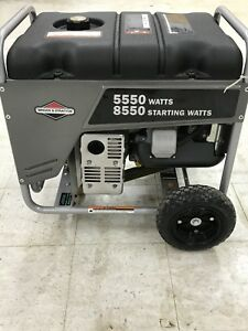 Briggs Stratton Generator Back Up Power Portable Commercial Grade Gas Power