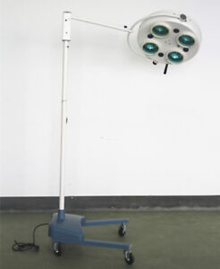 Floor Standing Exam Doctor Surgical Halogen Shadowless Operating Ot Light Wykl4