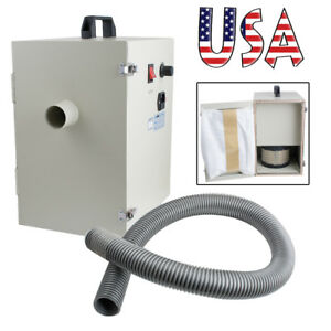 Usa Portable Dental Digital Dust Collector Vacuum Cleaner Lab Device Table 1200w