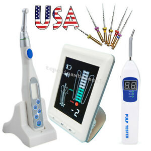 Color 4 5 Dental Apex Locator Root Canal Endo Motor Treatment Pulp Tester Files