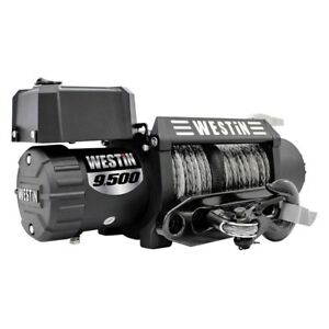 Westin 47 2103 9 500 Lbs Off Road Series Winch W Synthetic Rope