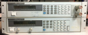 Agilent Hp 6543a 35v 6a 210w Variable Dc Output Power Supply Tested At Full Load