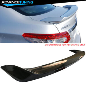 Fits 13 17 Nissan Sentra Oe Style Trunk Spoiler Painted Kh3 Black Obsidian