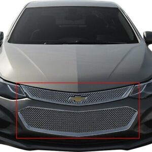 For Chevy Cruze 2016 2018 Ses Trims Abs470 2 Pc Chrome Mesh Main Grille