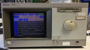 Hp 16500b Logic Analysis System With 16555a Module Working
