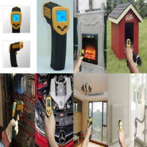 Infrared Thermometer Gun Digital Laser Non contact Ir Temperature Monitor Gauge