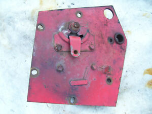 Original Massey Harris 555 Diesel Tractor lh Brake Cover Shoes 1957