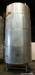 Used Dci Reactor 4 000 Gallon 316l Stainless Steel Vertical 84 Diameter X