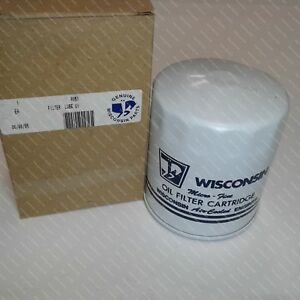 Wisconsin Part rv51 Filter Lube Oil
