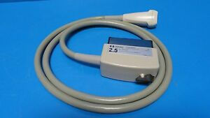 Hp 21200 68300 Phased Array 2 5 Mhz Probe For Sonos 1000 1500 7042